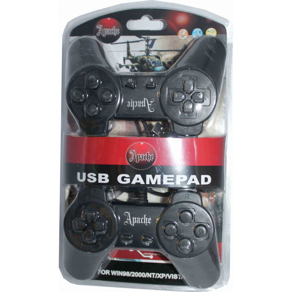 OEM Gamepads set 2pcs for PC with USB.cable -13012