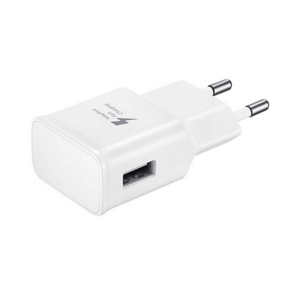 OEM Network charger, Adaptive Fast Charge 5V/1A 220A, 1 x USB, White - 14863