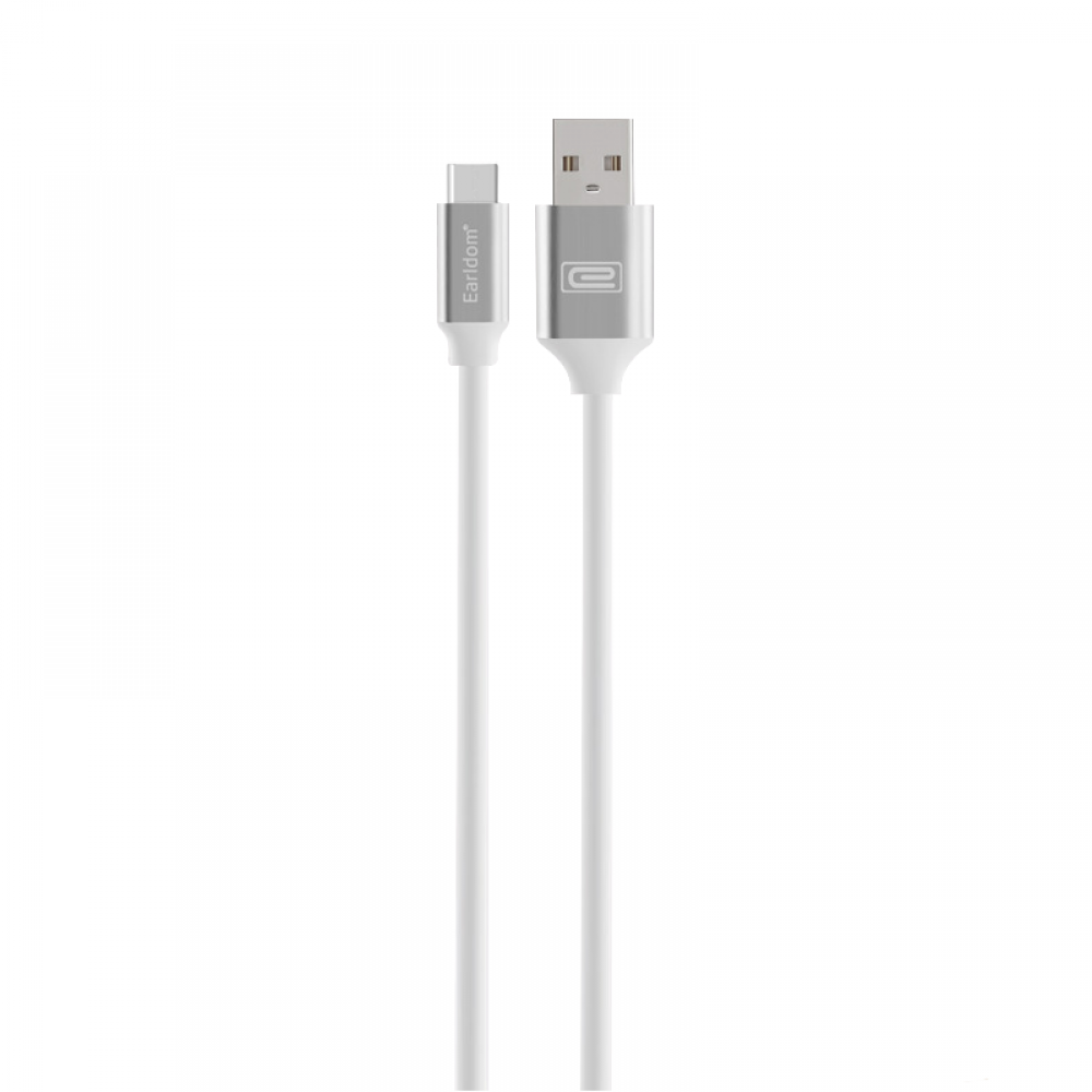 Earldom, 001C, Type-C,  Data cable, 1.0m, White - 14890