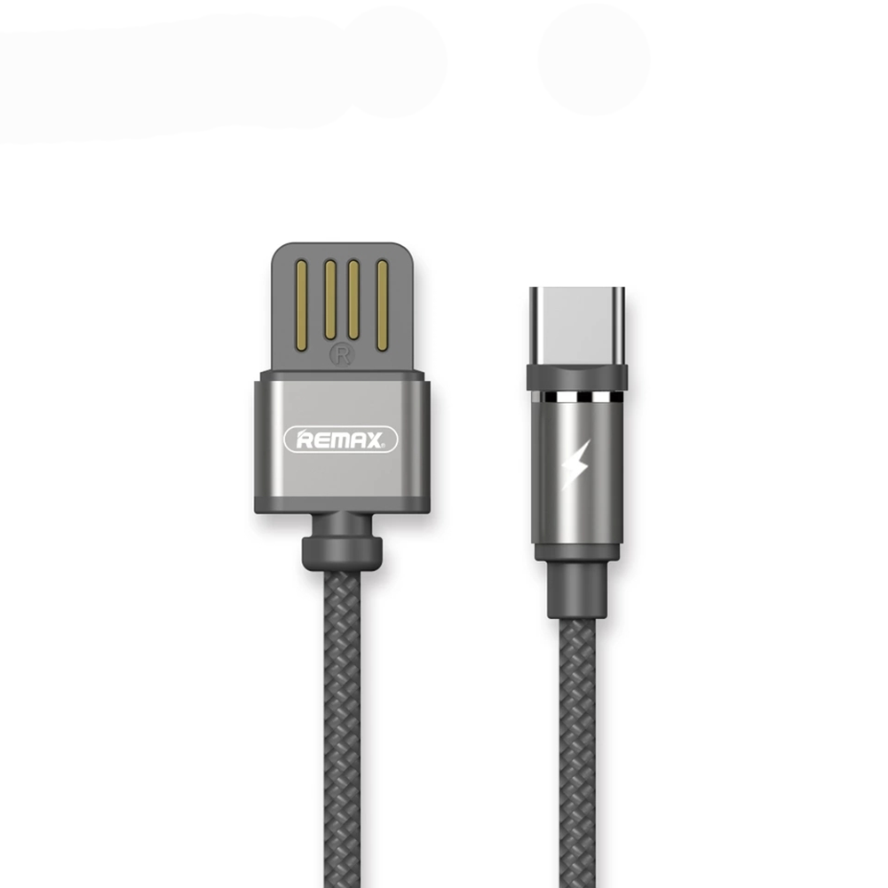 Remax Gravity RC-095a,Magnetic data cable USB Type-C, 1.0m, Gray - 14937