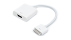 DeTech Adapter  iPad to HDMI, White - 18258