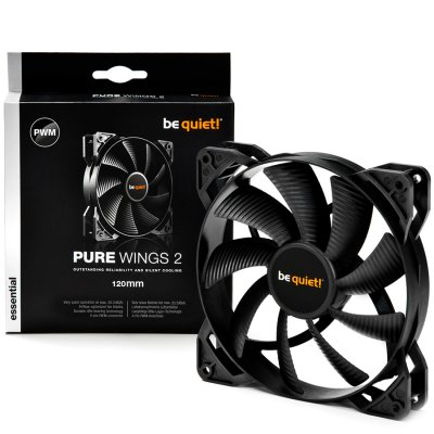 BE QUIET BL039 Pure Wings 2,120mm 4-pin PWM,Fan speed-1.500RPM, 20.2 dB(A)