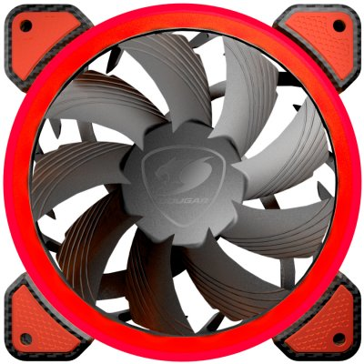COUGAR Vortex FR 120 CG3MFR120X0001red LED,Cooling fan,Hydraulic Bearing,Speed 1200 R.P.M,Air Flow