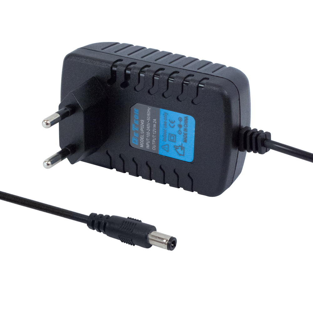 DeTech Laptop Adapter 24V/ 1A 5.5*2.5 - 205