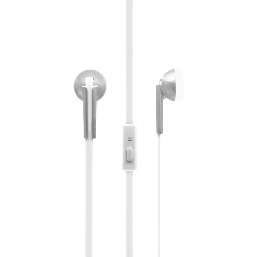 OEM Earphones IN-118, For smartphone, With microphone, Different colors - 20396