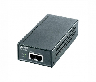 ZyXEL PoE12-HP PoE Injector , GbE, 802.3at (30W)
