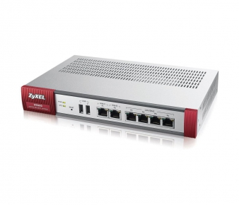 ZyXEL USG60 Security Gateway , VPN 20x IPSec/ 20x SSL, 6x 1Gbps (4x LAN/DMZ, 2x WAN), 2x USB