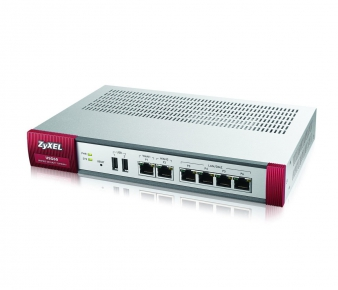 ZyXEL USG60-UTM Security Gateway , VPN 20x IPSec/ 20x SSL, 1-year IDP, Antivir, Antispam, CF