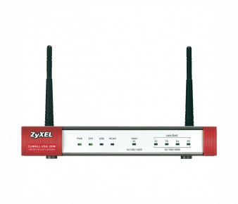 ZyXEL USG20W Security Gateway , VPN 5x IPSec/ 1x SSL, 5x 1GbE (4x LAN/DMZ, 2x WAN), 1x USB, WiFi