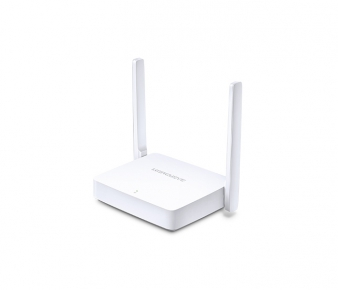 Mercusys MW301R Wireless Router, N300, 3x10/100Mbps ports, 2 x 5dBi fixed omni antenna