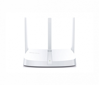 Mercusys MW305R Wireless Router , N300, 4x10/100Mbps ports, 3 x 5dBi fixed omni antenna