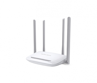 Mercusys MW325R Wireless Router, N300, 3x10/100Mbps ports, 4 x 5dBi fixed omni antenna