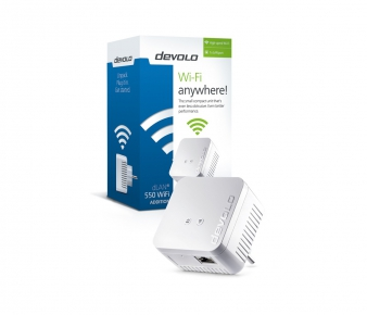 Devolo 9631 dLAN 550 WiFi devolo Powerline, AV500