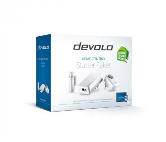 Devolo 9806 Home Control Starter Pack, Z-Wave