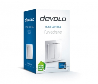 Devolo 9808 Home Control Wall Switch, Z-Wave