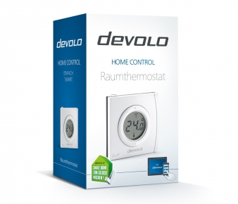 Devolo 9810 Home Control Room Thermostat, Z-Wave