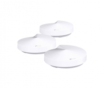 TP-LINK Deco M5 Access Point, AC1300, 2xGbE, MU-MIMO, 3-pack