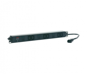 AEG 6000006829 Power strip PDU 10-1, 6 x IEC320 C13 (10A), Rackmount