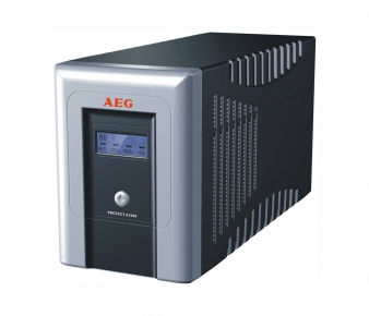 AEG 6000006437 UPS Protect A. 1000VA/ 600W, Tower
