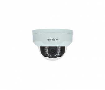 UNIVIEW IP IPC321E-DIR-F36-IN Camera, 1.3MP, Vandal-resistant, Fixed Dome