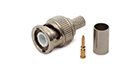 DeTech, Connector BNC,Male, Straight, RG6, 75Ohm,- 17144