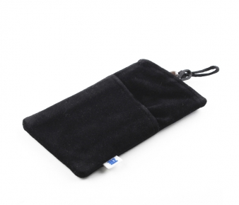 ZTE BAG-FL-K Phone and Tablet Flannel Bag, Black 4.3''(10.92сm)