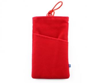ZTE BAG-FL-R Phone and Tablet Flannel Bag, Red 4.3''(10.92сm)