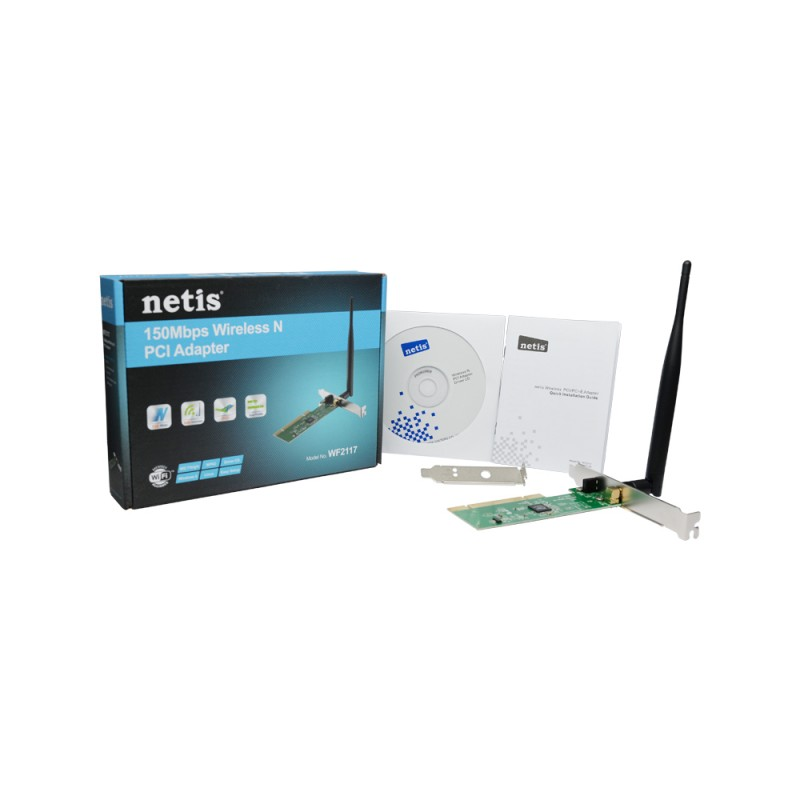 NETIS WF-2117 Wireless N PCI Adapter