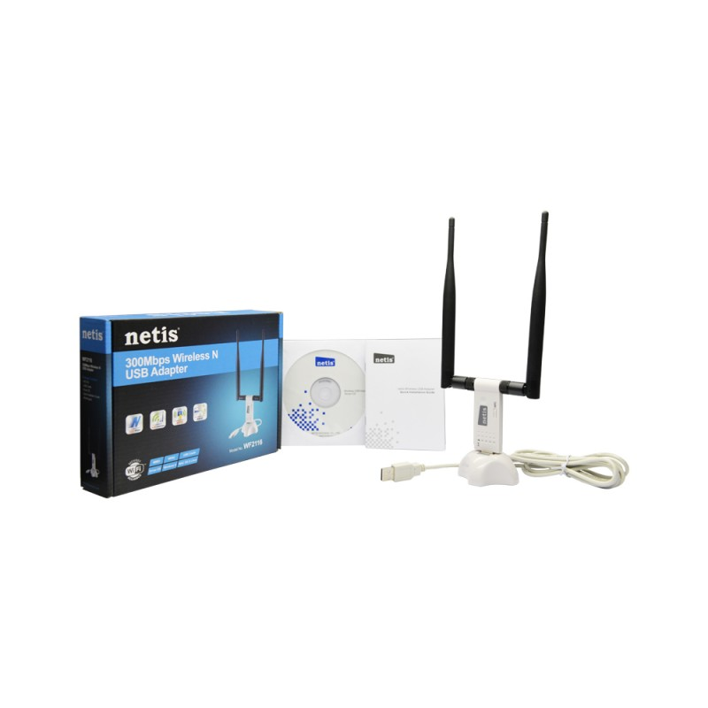 NETIS WF-2116 300Mbps Wireless N USB Adapter