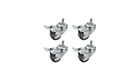 Rack Accessories LN-ZMN-TKR-5020-XX Set of 4 pcs. steel wheels for wall communication cabinets
