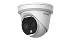 HIKVISION DS-2TD1217-(2/3/6)/PA Thermal and Optical Network Turret Camera POE