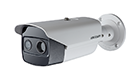 HIKVISION DS-2TD2617-(3/6/10)/PA Thermal & Optical Bi-spectrum Network Bullet Camera PoE