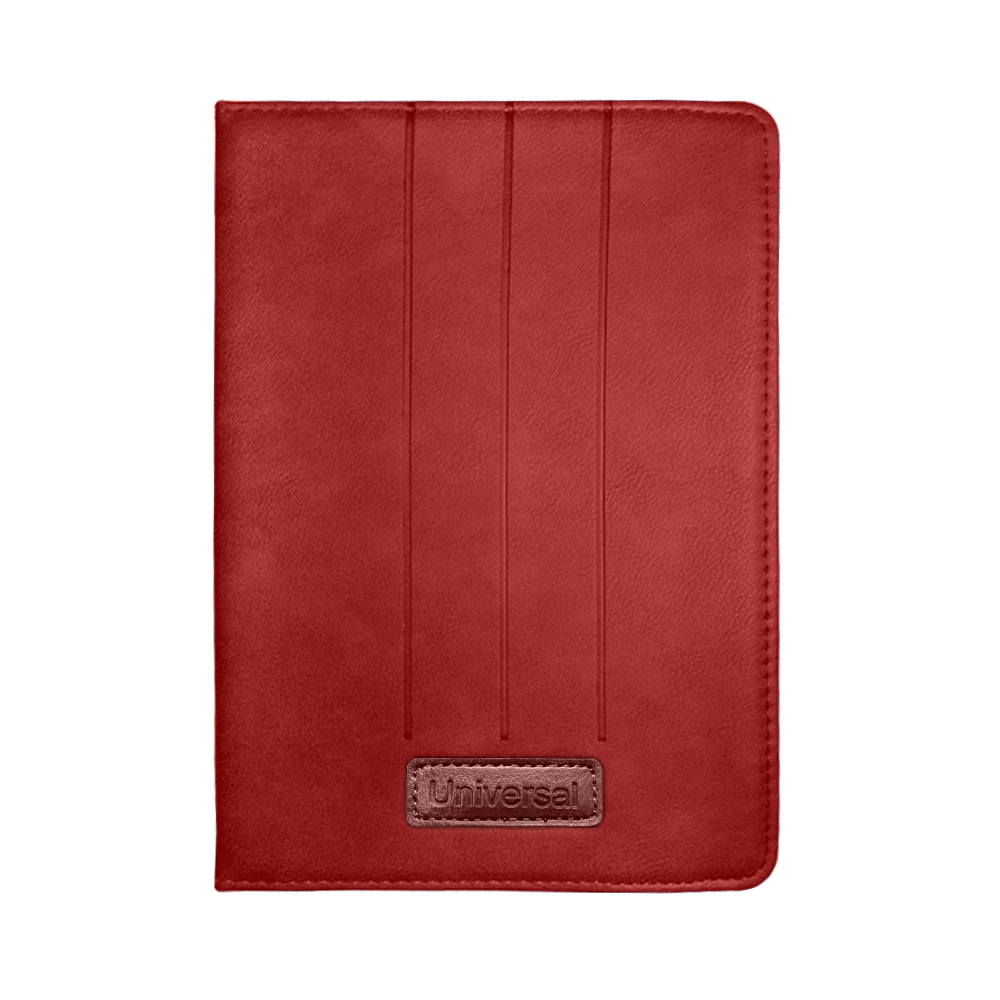 "OEM Universal tablet case 7"", Red - 40002"