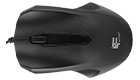 FanTech, Mouse Optical FT-530, Black - 908