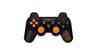 Dragon War, G-PC-002,Gamepad,Dual Shock, Black – 13019