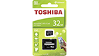 TOSHIBA THN-M203K0320EA MICRO SD 32GB CLASS 10 M203 UHS I WITH ADAPTER
