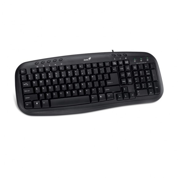 GENIUS KB-M200 KEYBOARD, MULTIMEDIA, USB