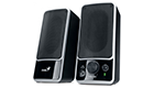 GENIUS SP-M120 SPEAKERS 2W GLOSSY DE LUX BLACK