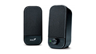 GENIUS SP-A110 SPEAKERS, BLACK
