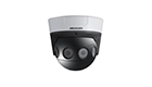 Hikvision DS-2CD6924F-IS 8 MP H.265+ PanoVu Network Dome Camera Series 4x4mm Lens PoE