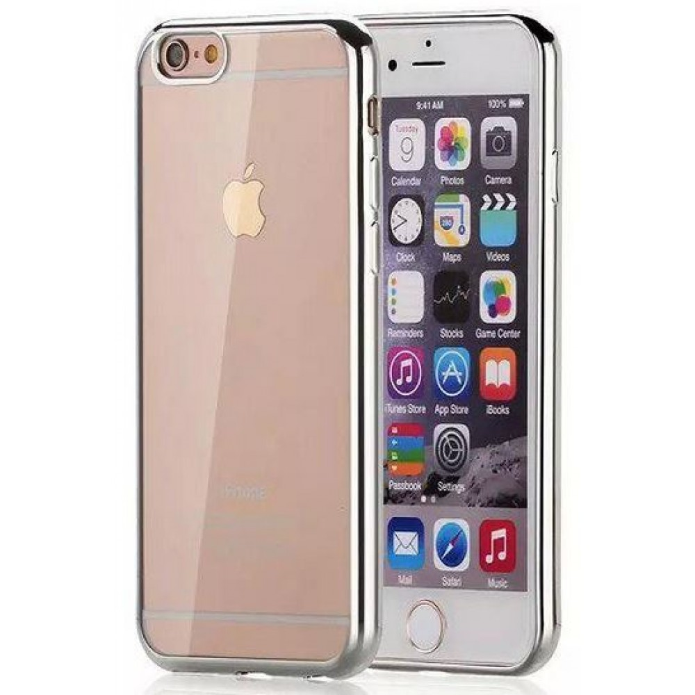 OEM Case for iPhone 7 Plus, Sillicon, Ultra thin 0.33mm, Silver - 51385