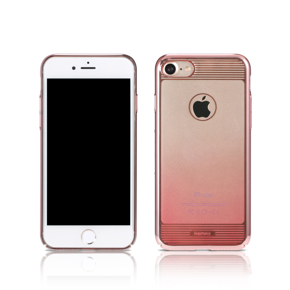 Remax Nora, Protector for iPhone 7/7S Plus, TPU, Pink - 51448