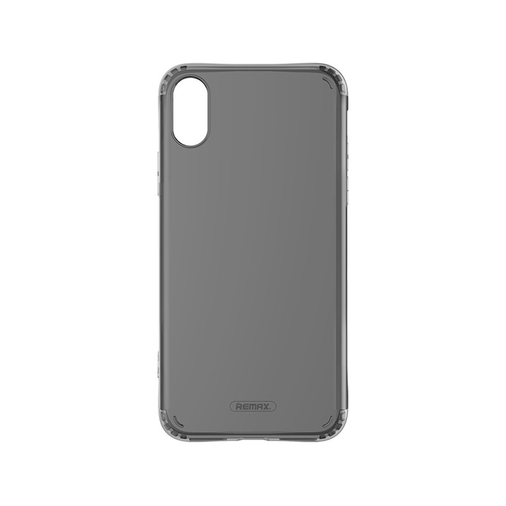 Remax Letton,Protector for iPhone X, TPU, Black - 51542