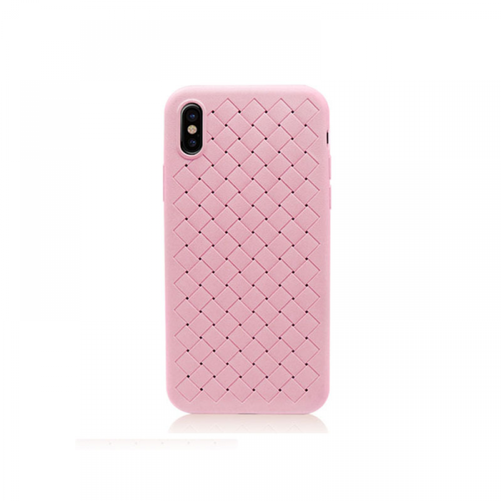 Remax Tiragor,Protector For iPhone X, TPU, Pink - 51544