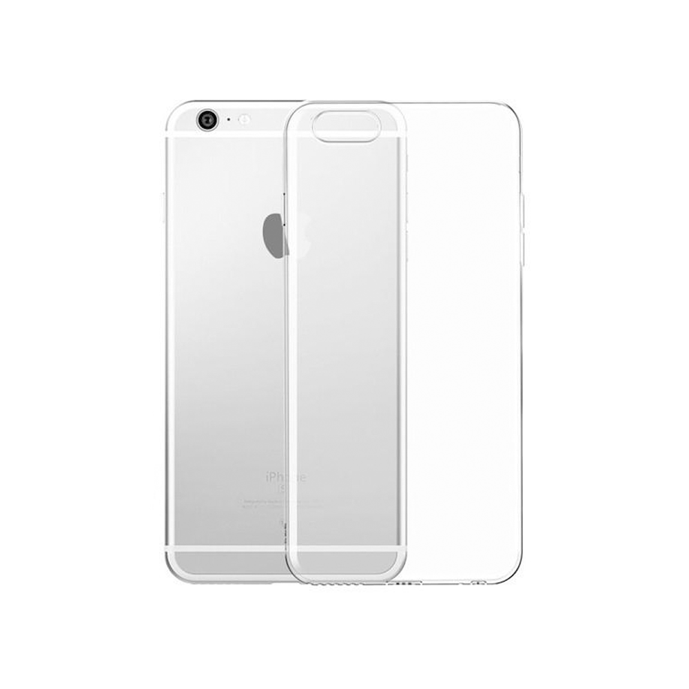 OEM Silicone case For Apple iPhone 6 Plus, Slim, Transparent - 51586