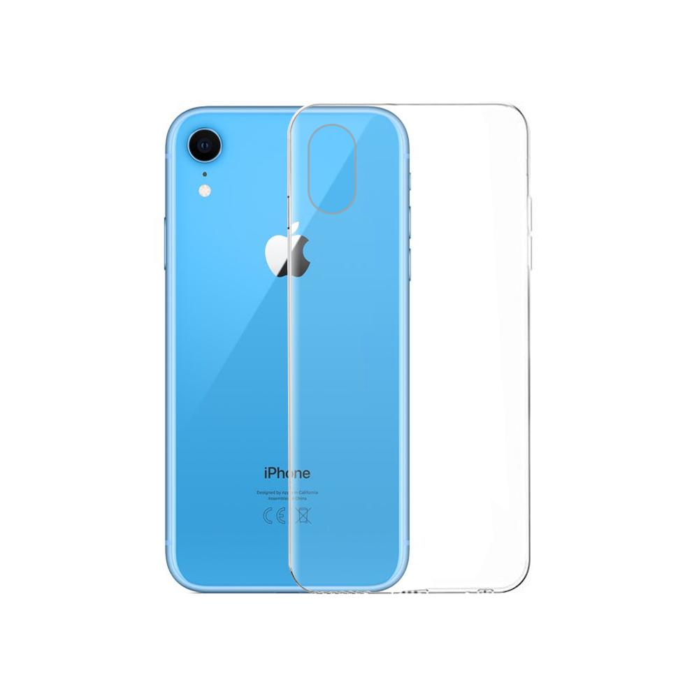 OEM Silicone case For Apple iPhone XR, Slim, Transparent - 51590