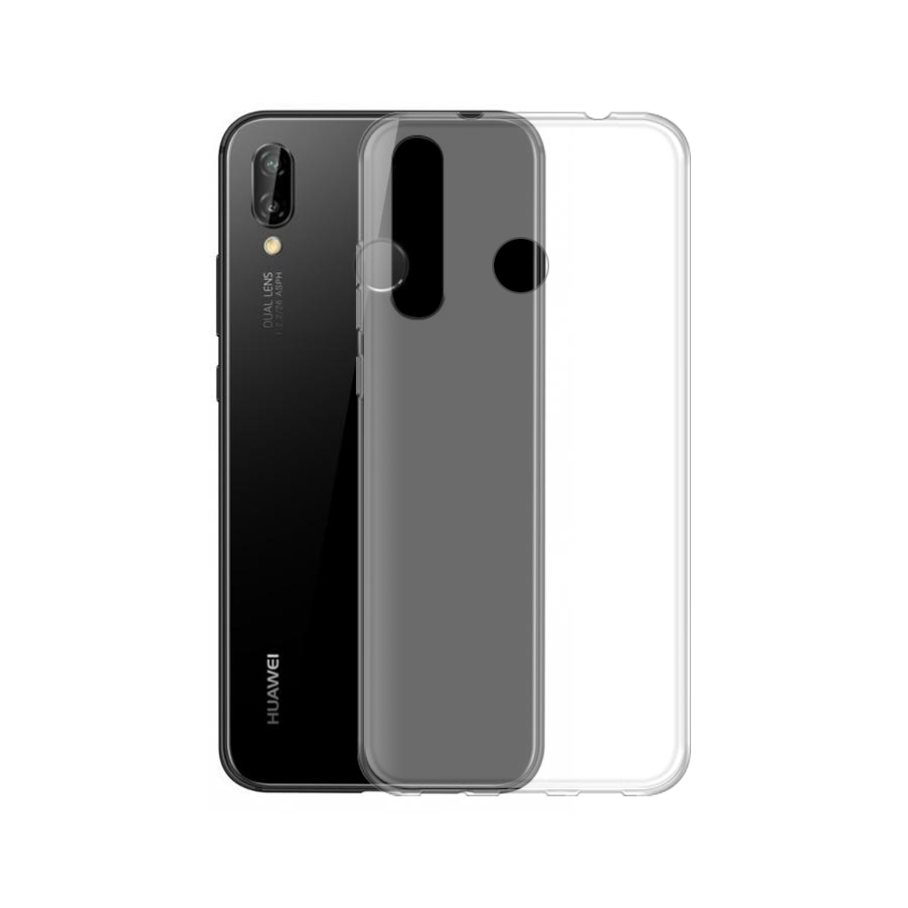OEM Silicone case For Huawei P20, Slim, Transparent - 51602