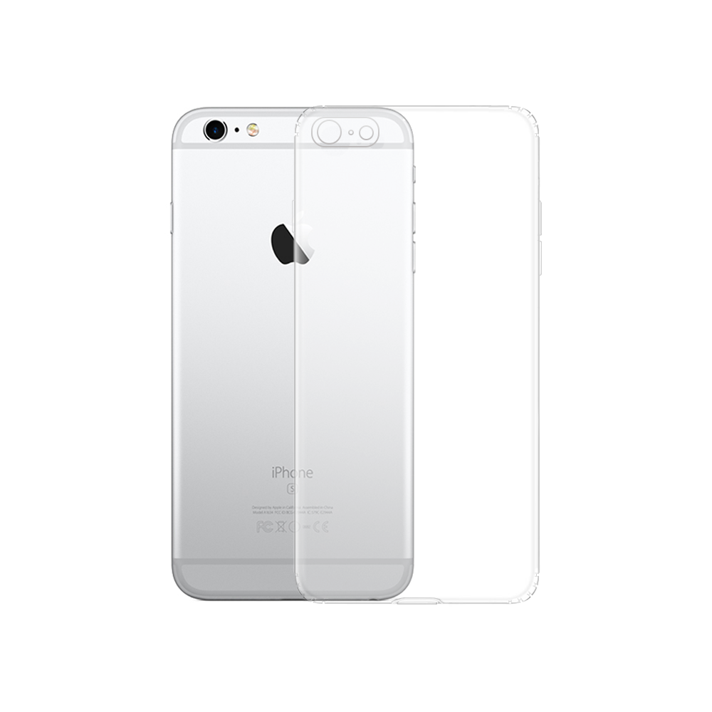 OEM Silicone case For Apple iPhone 6, Transparent - 51606