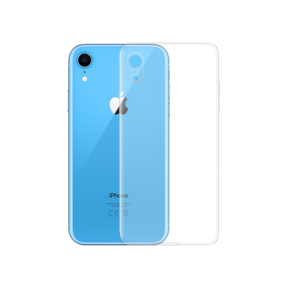 OEM Silicone case For Apple iPhone XR, Transparent - 51611