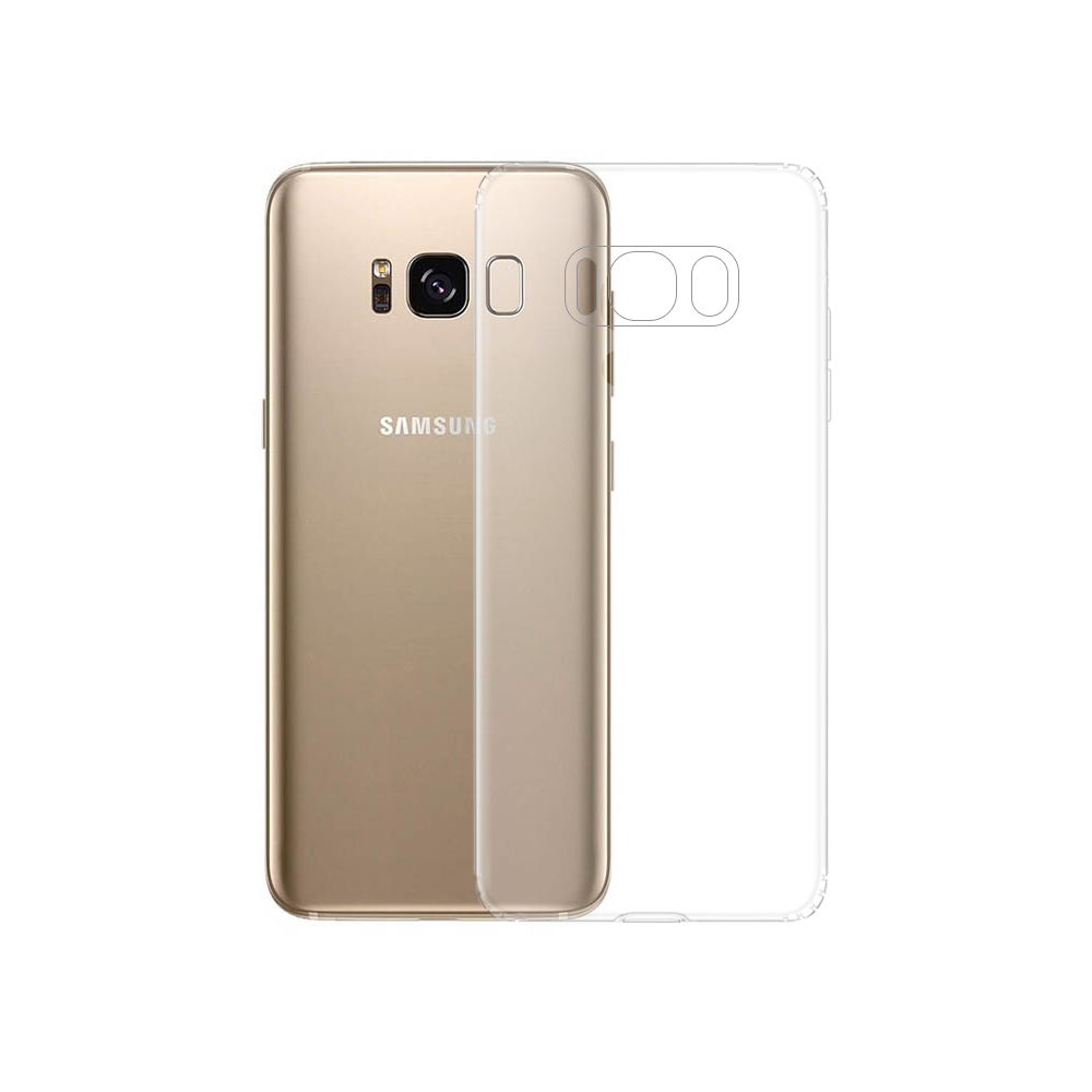 OEM Silicone case For Samsung Galaxy S8, Transparent - 51618